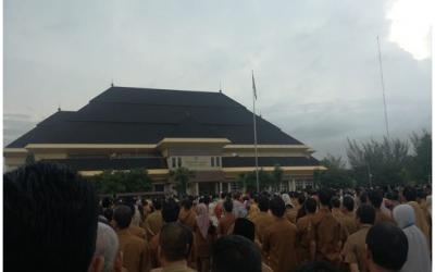 Enam Amanat Gubernur Banten Pada Apel Gabungan Awal Bulan Februari 2020